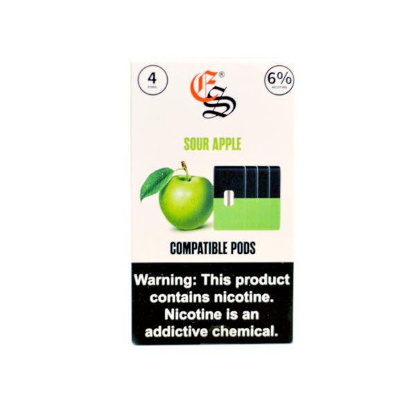 Eonsmoke JUUL®-Compatible Pods: Sour Apple