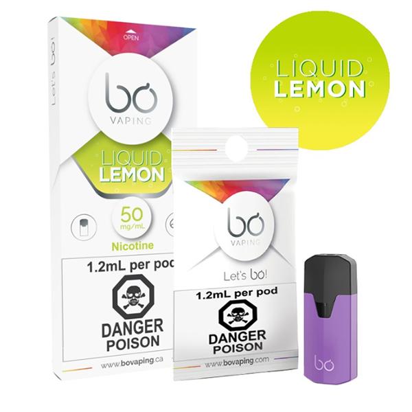 Bo Vaping Liquid Lemon