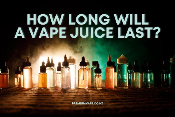 How Long Does Vape Juice Last?