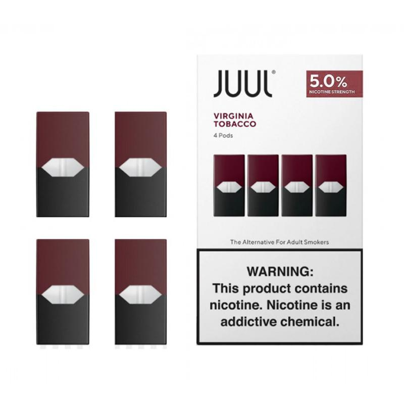 JUUL® Virginia Tobacco 5% Pods